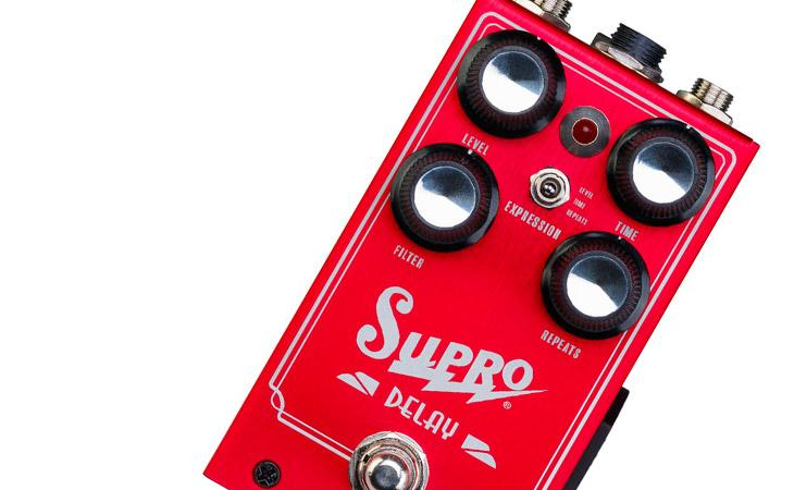 Supro modernizza il delay analogico