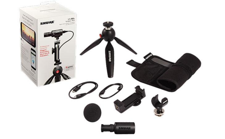 Shure lancia MV88+ e Video Kit