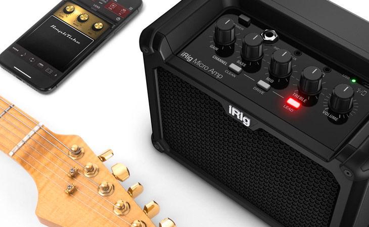 iRig diventa un ampli a batterie con Micro Amp