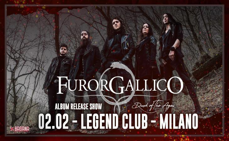 Furor Gallico, nuovo album e tour in Italia.