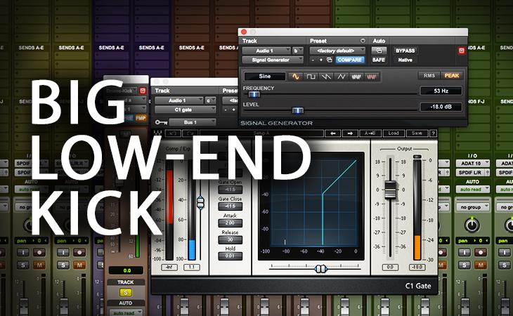 Quick Tutorial - Big Low-End Kick