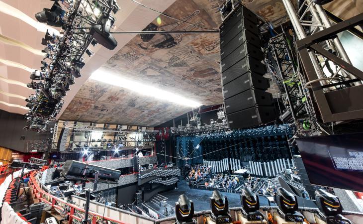 Sanremo ha scelto il VIO di dBTechnologies