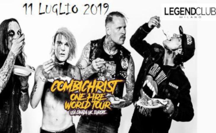 Combichrist live al Legend Club di Milano