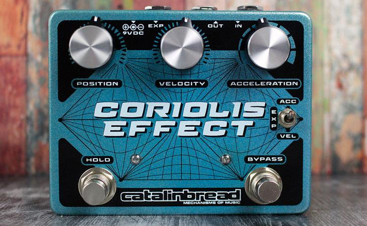 Catalinbread distorce, congela e filtra col Coriolis Effect