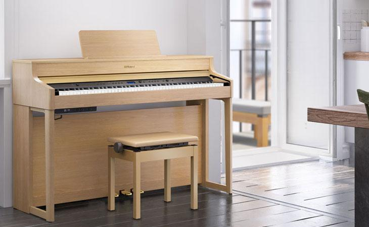 HP700: i pianoforti Roland per tutti