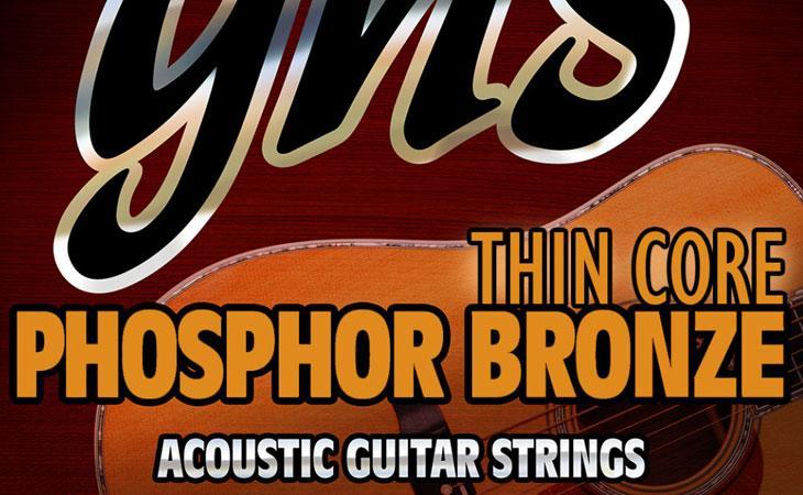 Thin Core: corde acustiche a bassa tensione da GHS