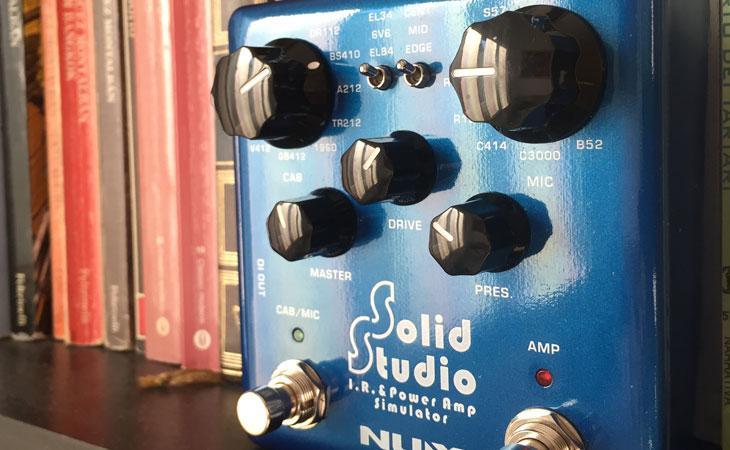 Nux Solid Studio SS5: microfonare la chitarra... con un pedale
