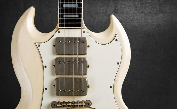 Cool Gear Monday: la SG Custom 1967 di Jimi Hendrix