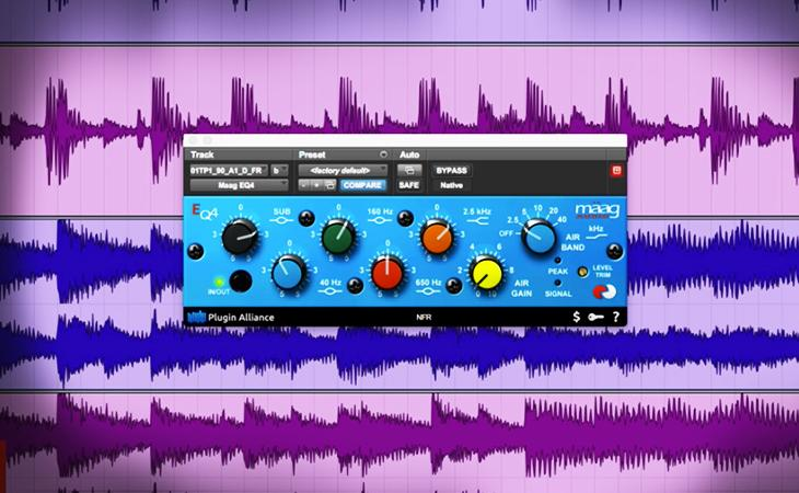 Hardware contro plugin: Maag Audio Eq4 a confronto