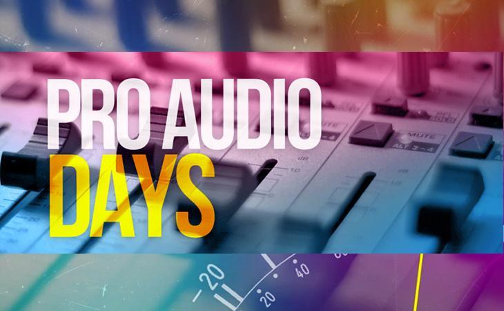 Arrivano i Pro Audio Days a Milano!