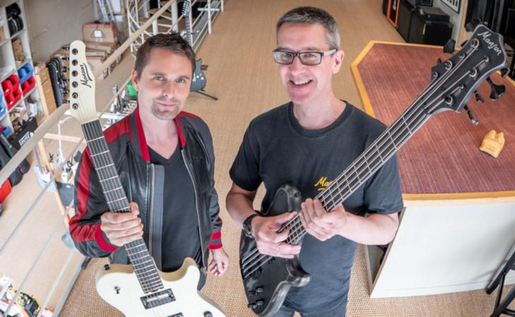 Matt Bellamy acquisisce Manson Guitar Works