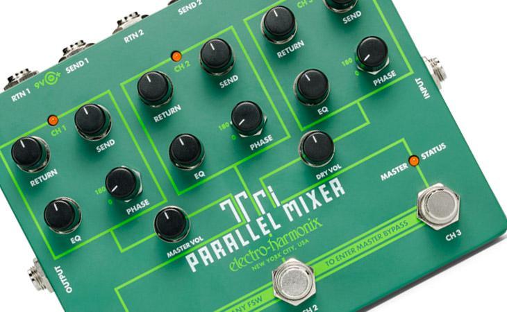 Tri Parallel Mixer: switch a tre canali da EHX