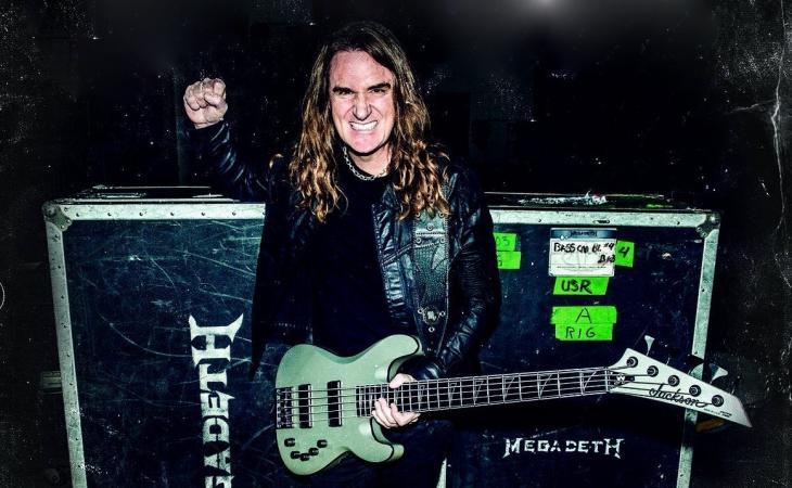 Thrash metal: un basso in stile Megadeth