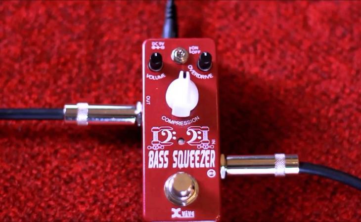 Xvive XB1 Bass Squeeze: un ottimo affare per chi suona rock