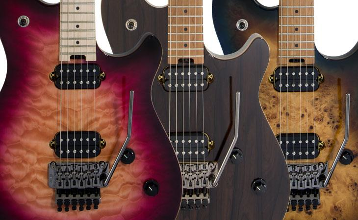 EVH Standard QM ed Exotic mostrate in video