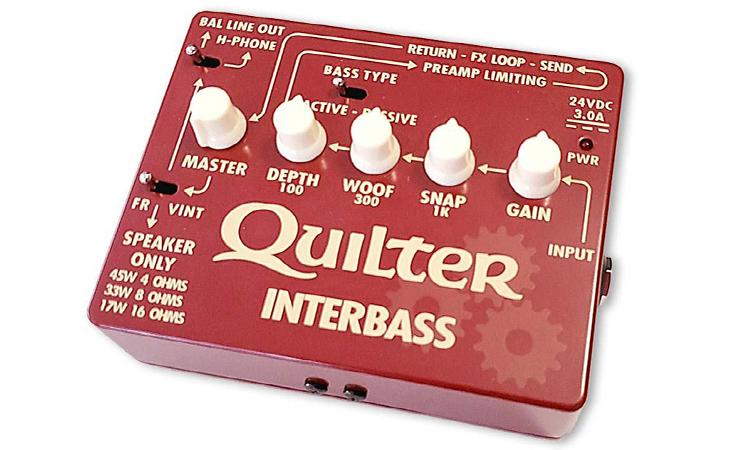 Quilter Interbass, amplificatore formato pedale