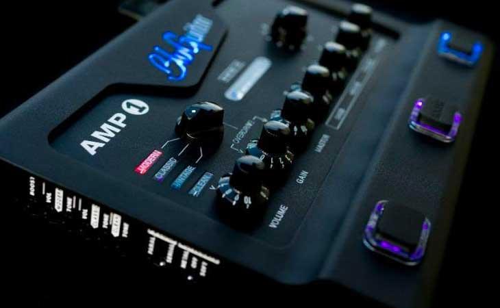 L'ampli da pedaliera BluGuitar diventa Iridium per il metal estremo