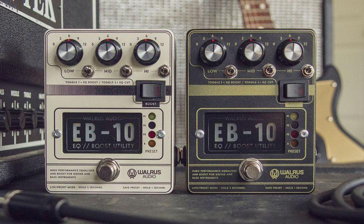 EB-10: macchina da tweaking Walrus Audio