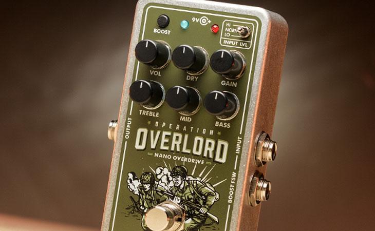 Nano Operation Overlord: Jon Lord per chitarra, tascabile