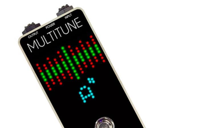 Foxgear Multitune: accordatore polifonico su DSP