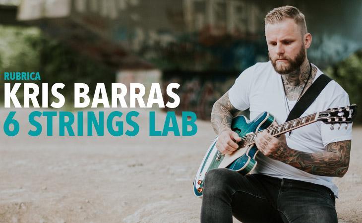 Kris Barras, una chitarra che picchia